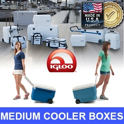 [JAPAN/USA TOP SELLER] ICE LAST 5 DAYS! Cooler Box for food and drinks/put up to 71 cans **AIR TIGHT SEAL**BPA Free**Stain and Odor Resistant** BBQ