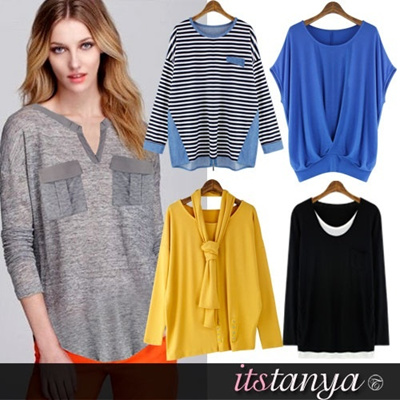 ★itstanya★New arrival/Best tshirt/K-star/Simple Loose Fit/Pant/Elegance/Work style/Korea fashion/Today hot item