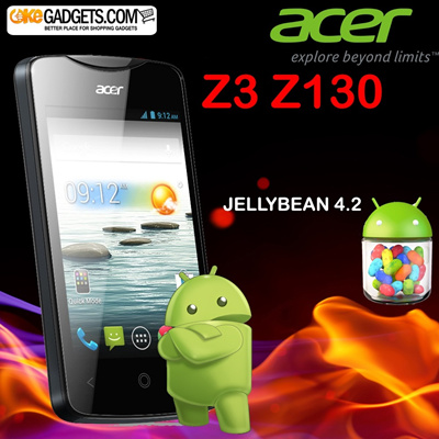 SMARTPHONE ACER Z3 Z130 ANDROID DUALCORE + JELLYBEAN 4.2