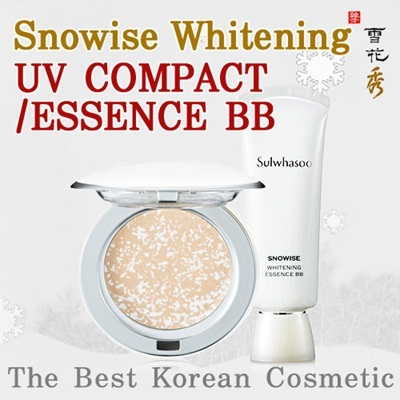 [Sulwhasoo] (2014 Fresh New Item) Snowise Whitening UV Compact SPF50+ PA+++ 9g ★MakeUpLine★