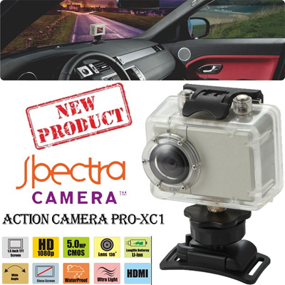 [New Produk] Spectra Action Camera PRO-XC1