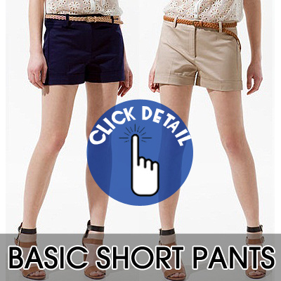 ☆ NEW UPDATE ☆ BASIC SHORT PANTS 100% AUTHENTIC BRANDED!