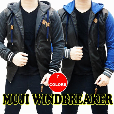 [LIMITED EDITION] MUJI WINDBREAKER JACKET [7 COLORS]