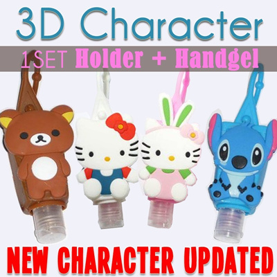 POCKETBAC HOLDER + HAND GEL SANITIZER - CARTOON SERIAL - NEW ARRIVAL