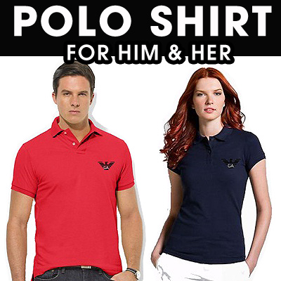 [POLO SHIRT] BRANDED POLO FOR UNISEX_MORE COLORS
