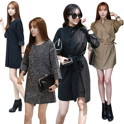 ★Extra 20% OFF★♠New Arrival Korea Dress♠ Office look/lace/beach wear/printing/long/sleeveless dress /woman fashion