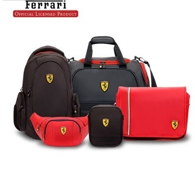 FERRARI Santander Backpack/Ferrari Active Laptop Backpack/Ferrari Classic Messenger Bag