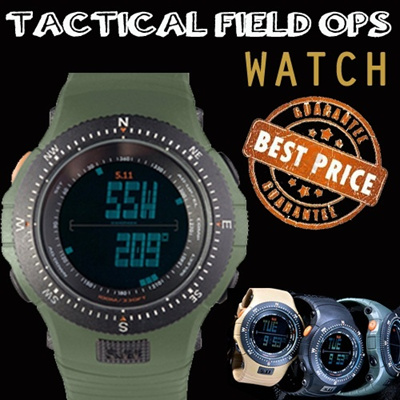 [TACTICAL FIELD OPS WATCH] ▶ Military Look ◀
