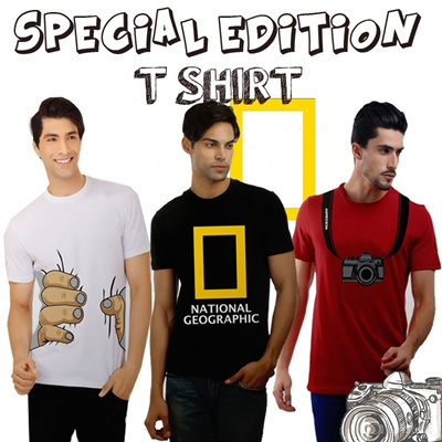 ★★BUY 2 FREE SHIPPING★★NEW_T-SHIRT_MEN★★SPECIAL EDITION SUPER HEROS*NATIONAL GEOGRAPHIC*DLL★SIZE M/L