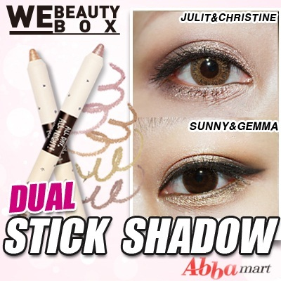 ★All Day All Night Longwear Dual Stick Shadow★very easy makeup Eye Shadow/Bling Bling style/travel makeup