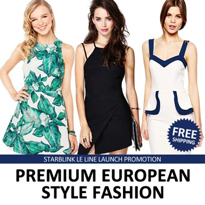 【Starblink Leline】2014-AUG-22 New summer / European suit / The shop treasure / Europe and the United States high-grade / High-end brand dress/Work dress/Casual dress/OL dress