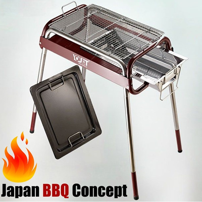 Portable/BBQ Shelf/Barbecue/Indoor/Outdoor/Cooking/Stainless Steel