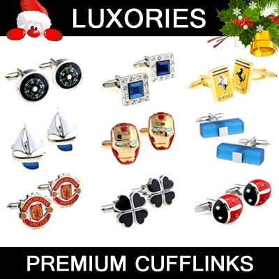 ★ Premium Cufflinks ★ Cuff Links Men Man Fashion Shirts Brand Accessories  Heroes Cars Formal Wear Business Christmas Gift Executive Birthday Present