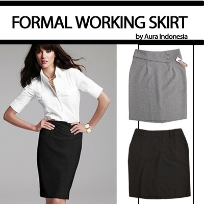 [BEST BUY-FORMAL SKIRT by AURA INDONEISA]★BLACK/GRAY/BROWN ★for HER★HIGH FASHION★