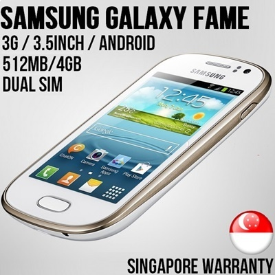 Samsung Android Smart Phone with local warranty
