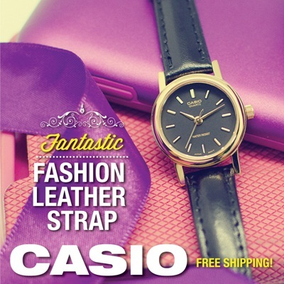 [CHEAPEST PRICE IN SPORE] *CASIO GENUINE* LTP-1094E SERIES! Strap Fashion Ladies Watches! Free Shipping and 1 year warranty!