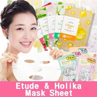 [Etude House][Holika Holika] ♣ I Need you Mask sheet / Essence Mask Sheet / Before After mask sheet [Skin care]
