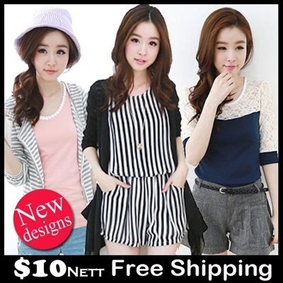 【28/9 Update】Flat Price Sales 2014 New Style Korean Summer Spring Fashion Dress Cardigan Blouse Lace Top/Korean style