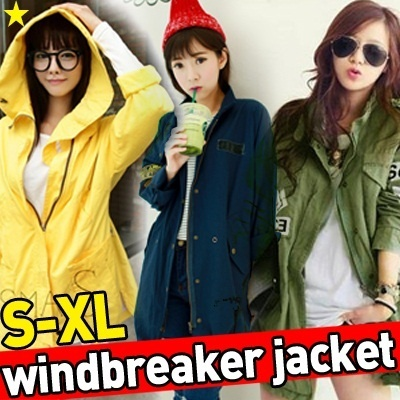 ★Windbreaker jacket S-XL★ Korean and Japanese Trend Fashion / Couple / SWEATERS KNITWEAR BLAZER JACKET OFFICE OUTER WEAR /Ladies Casual Jackets / Hoodie / unisex