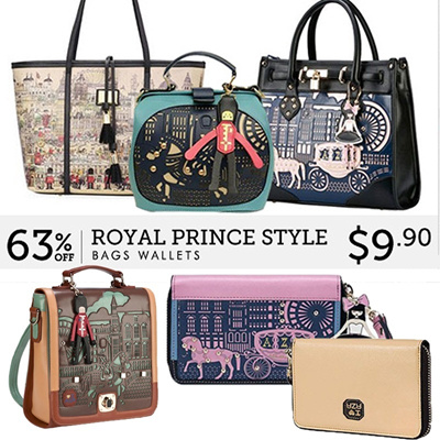 2013 New Styles★EUROPE ROYAL PRINCE New Attracted Design ROYAL PRINCE Women Wallet Shoulders Bag Han
