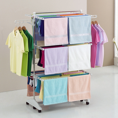 Clothes Drying Hanger Laundry Rack Foldable Clothes drying rack home organization