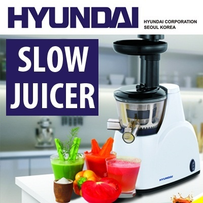 [HYUNDAI]BEST SELLING SLOW JUICER - HIGH JUICE YIELD - CONTINUOUS EXTRACTION  -  Local One Year Warranty!!!