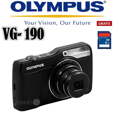 Olympus Camera Digital VG 190 16MP Bonus SDHC 8GB