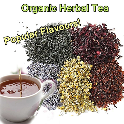 {FREE SHIPPING}Healthy Popular Organic Flower Tea -  Hibiscus Flower / Rosehips / Mulberry Leaf / Chamomile Flower/ Lavender Flower