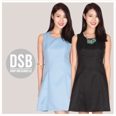 DSB #51356/57 - Back Detailed Executive Dress - S/M/L/XL
