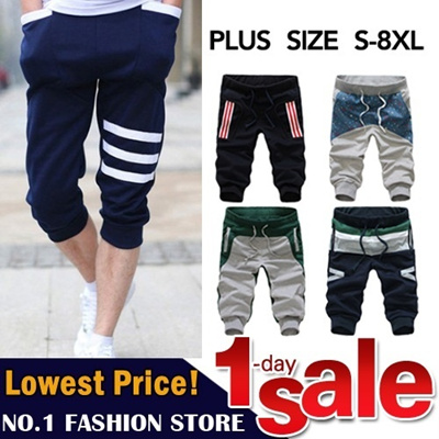【GSS June New Arrivals】New Arrival Men Pants/Linen Pants/ Men Casual Pants/ Sports Pants/Loose Pants