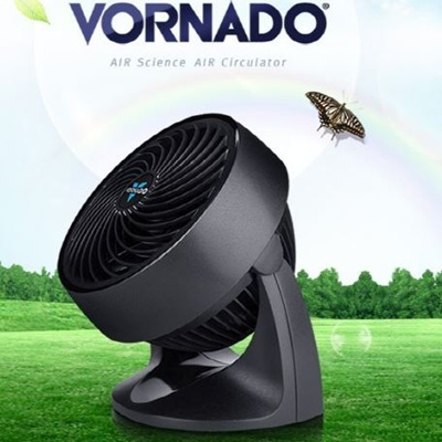 [Vornado]Cheapest in Singapore! Compact Whole Room Air Circulating Fan Black Portable Air Circulater