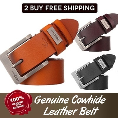 2 Buy Freeshipping! [Jeep] udial mens Genuine leather belts /belt/