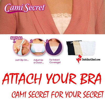 3 pcs [CAMI SECRET] Womens Seamless Bras THE CHEAPEST !!!