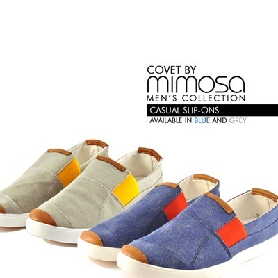 *Covet By Mimosa* Mens Casual Slip-Ons