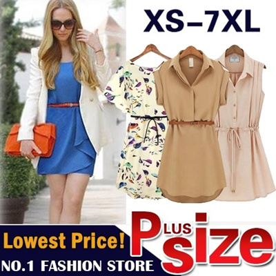 【GSS June New Arrivals】Plus Size Dress Blouse Work Dress Code Korean Style UK style Short Pant Short Skirt