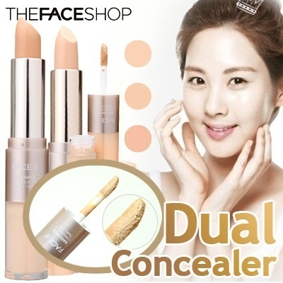 [The Face Shop] Face It Radiance Concealer Dual Veil 4.3g (No.17)(No.21)(No.23) Korean Cosmetic