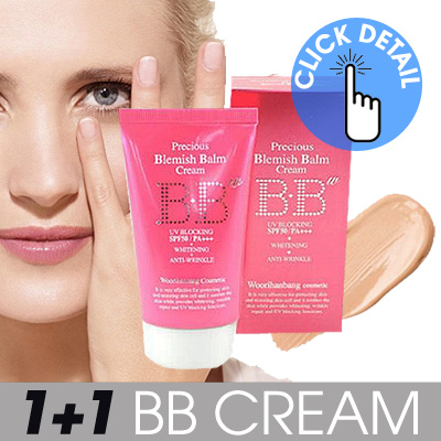 ♥♥HOT♥♥ [1+1 KOREAN BB CREAM] PRECIOUS BLEMISH BALM CREAM_SPF50/PA+++