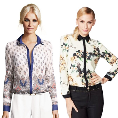 UK STYLE BLOUSE_OFFICE LOOK_EXCELLENT QUALITY!OCTOBER COLLECTION  /Kemeja/Blouse/Top/Fashion Style