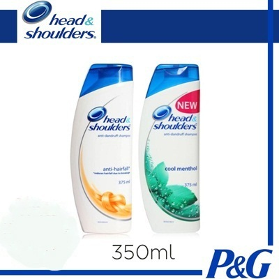 HEAD and SHOULDERS SHAMPOO - 315ml | 350ml - COOL BLAST ALL IN ONE HAIR RETAIN COOL MENTHOL