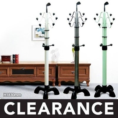 [ Gfurniture ] ★STOCK IN SG★Hardwood Hanger Rack Series Holder Organizer ★ Made in Korea ★  Closet C