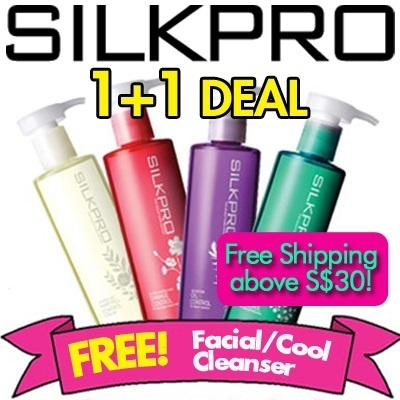 ★1+1 DEAL!★ Silkpro Treatment Shampoo - BUNDLE SALE [265ml per bottle] [Anti-Hairfall/Damage Control/Oil Control/Dandruff Control]