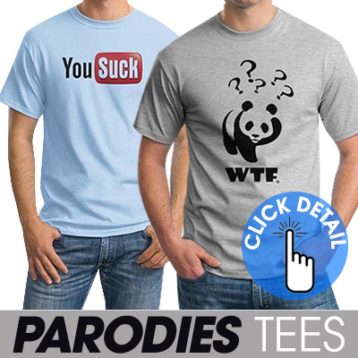 ★ BUY 2 GET FREE SHIPPING ★ T-SHIRT LOGO PARODIES ★ SMART TEES ★ Ordinal Store