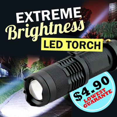 American Extreme Brightness CREE LED Torch