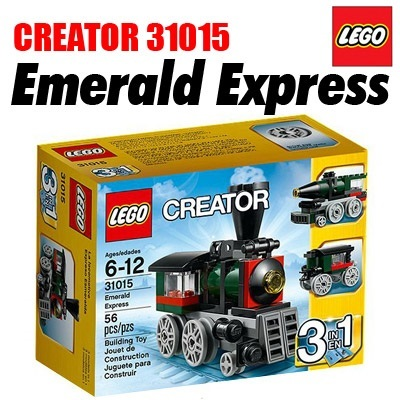 ◆LEGO Emerald Express_31015◆100% Genuine 2014 New! Creator 3 in 1/Best Hits/56 piece/31015/christmas gift/toy/block/kids