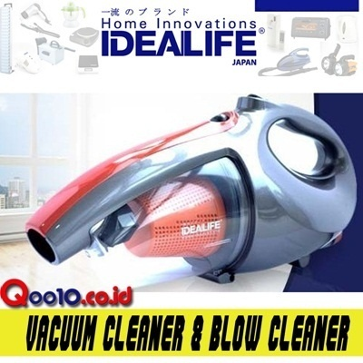 IDEALIFE VACUUM CLEANER And BLOW CLEANER IDEALIFE IL-130S