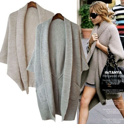 ★ONLY 1DAY SALE★[shawl Cardigans] itstanya free shipping 2014 FALL WINTER/KNIT COAT/CARDIGAN/KOREA FASHION/MADE IN KOREA women fashion