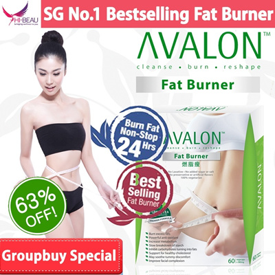 [Groupbuy Special 63% OFF] SG #1 Best Selling AVALON™ Fat Burner ★ No diuretic/caffeine/laxative/appetite suppressant ★ Safe Slimming ★ Weight Loss