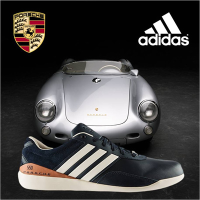 Limited Edition Adidas Porsche 550 Suede Shoes