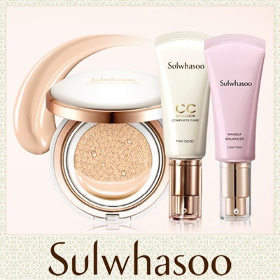 Korean Cosmetics ♥ The Golden Fishery [Sulwhasoo] Evenfair Perfecting Cushion / CC Emulsion / Makeup Balancer / AMOREPACIFIC
