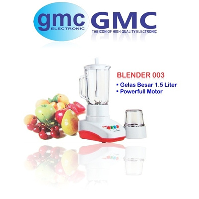 HOT PROMO!!! BLENDER GMC 003 | 001 * Gelas Besar / Power Motor *